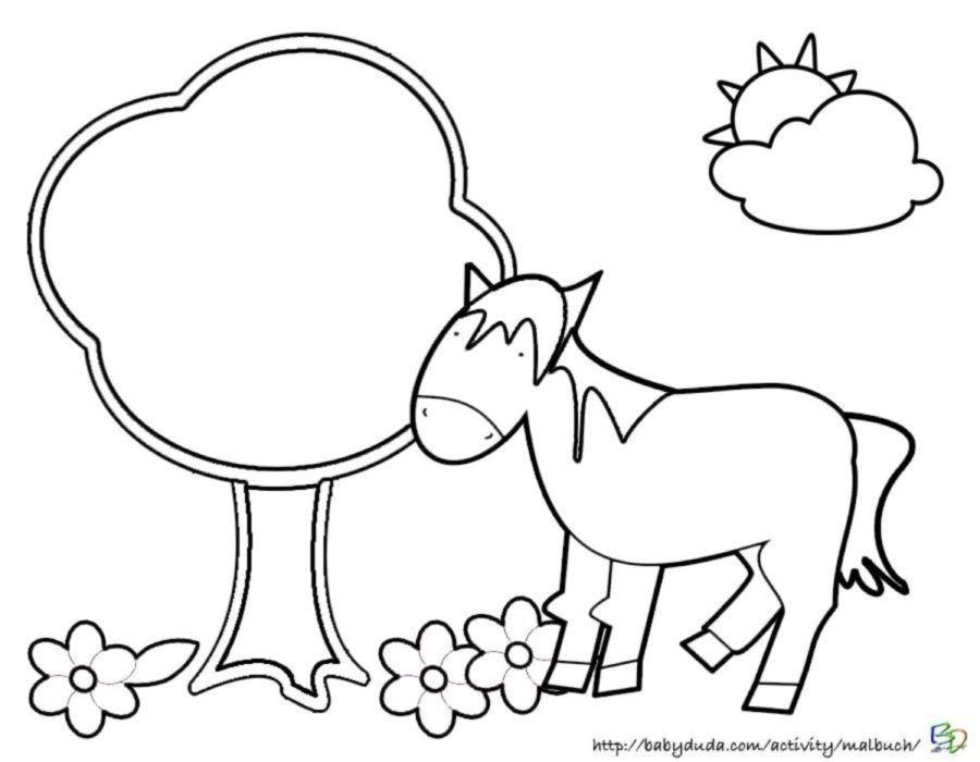 pferdebilder ausmalen pferdeköpfe ausmalbilder