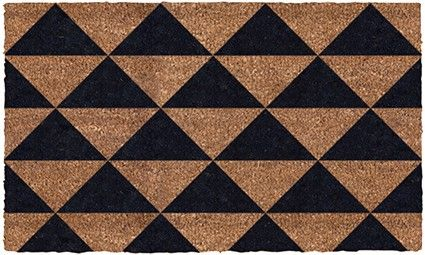 Triangles Pattern Door Mat Entrance Mat Triangle