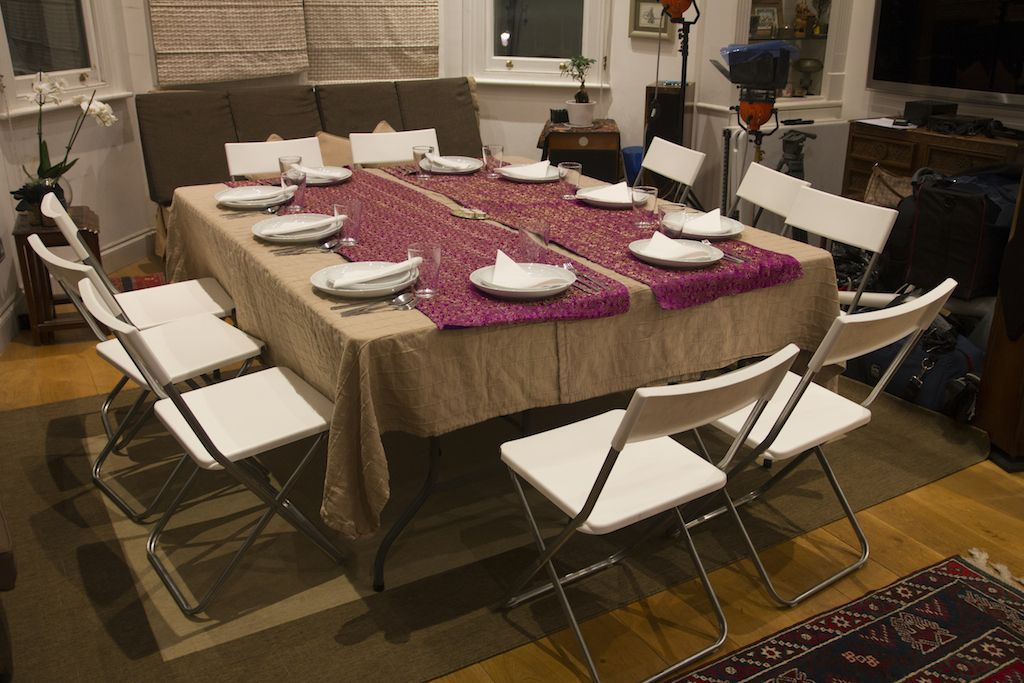 Chef Asma Khan sets up her Dining Clubs in her Living Room