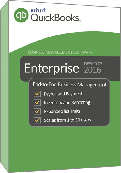 QuickBooks Enterprise 2018 Systemanforderungen
