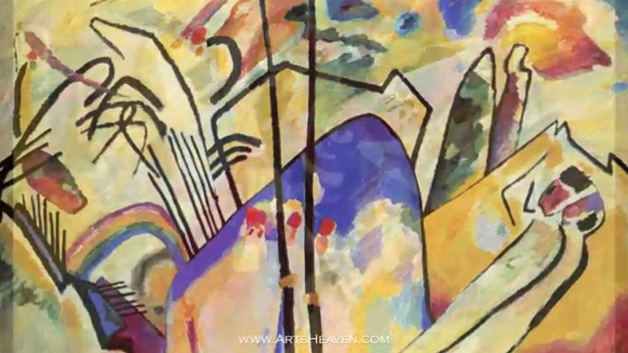 Famous wassily kandinsky paintings kandinsky art famous