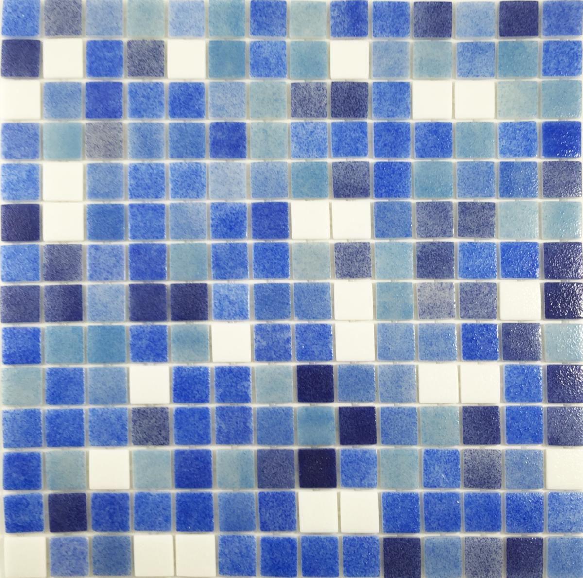 Magasin Meuble Salle De Bain Pau ~ m lange maux de verre martel diff rent bleu mouchet et blanc 2 4