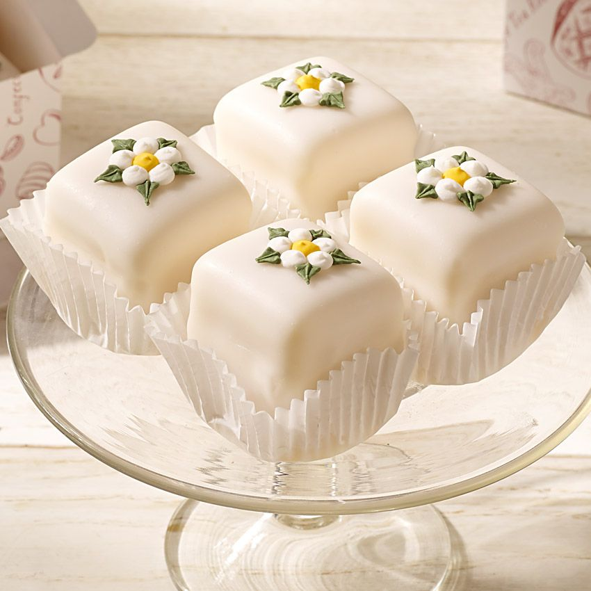 Yorkshire Rose Fondant Fancies In 2019