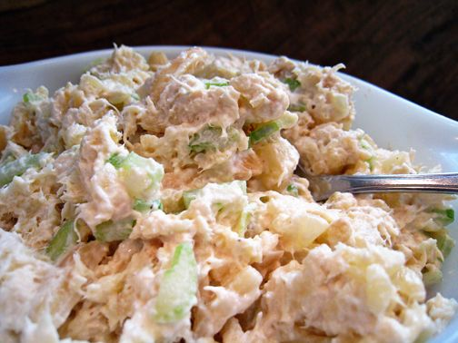 Pineapple Almond Chicken Salad In The Style Of Jason S Deli