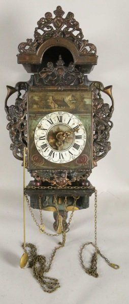 ANTIQUE CLOCK : Lot 253