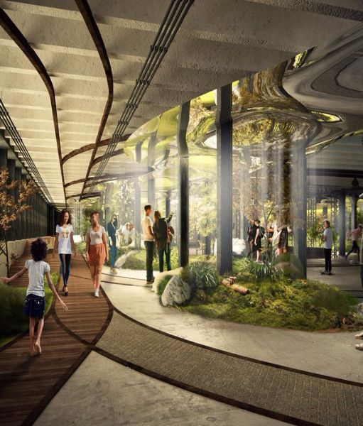 This Is What An Underground Park In Nyc Could Look Like