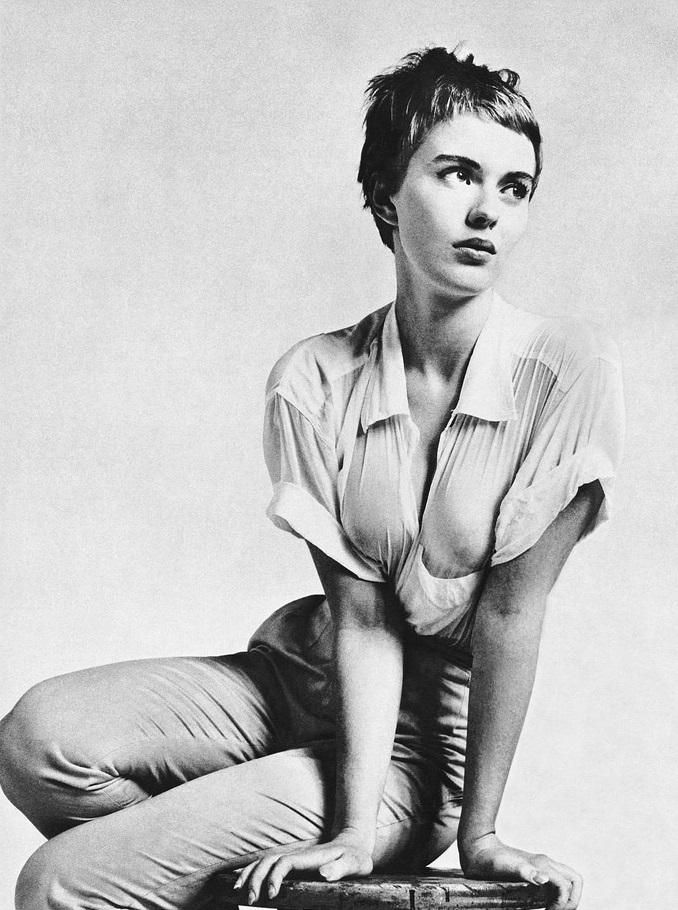 VintagePhotos on Cheveux courts Jean seberg, Short