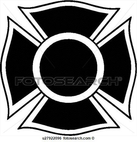 Fire Maltese Cross Vector Google Search Cross Vector Fire