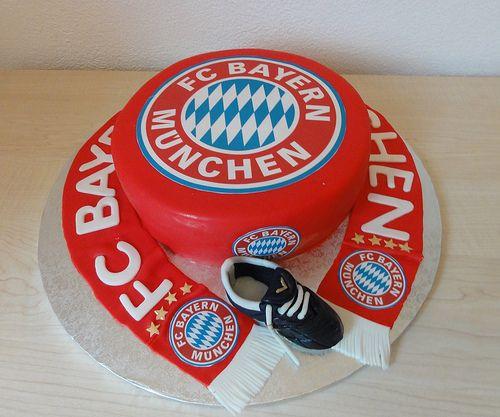 Bayern München Torte Cake Torte cake, Cake, Torte