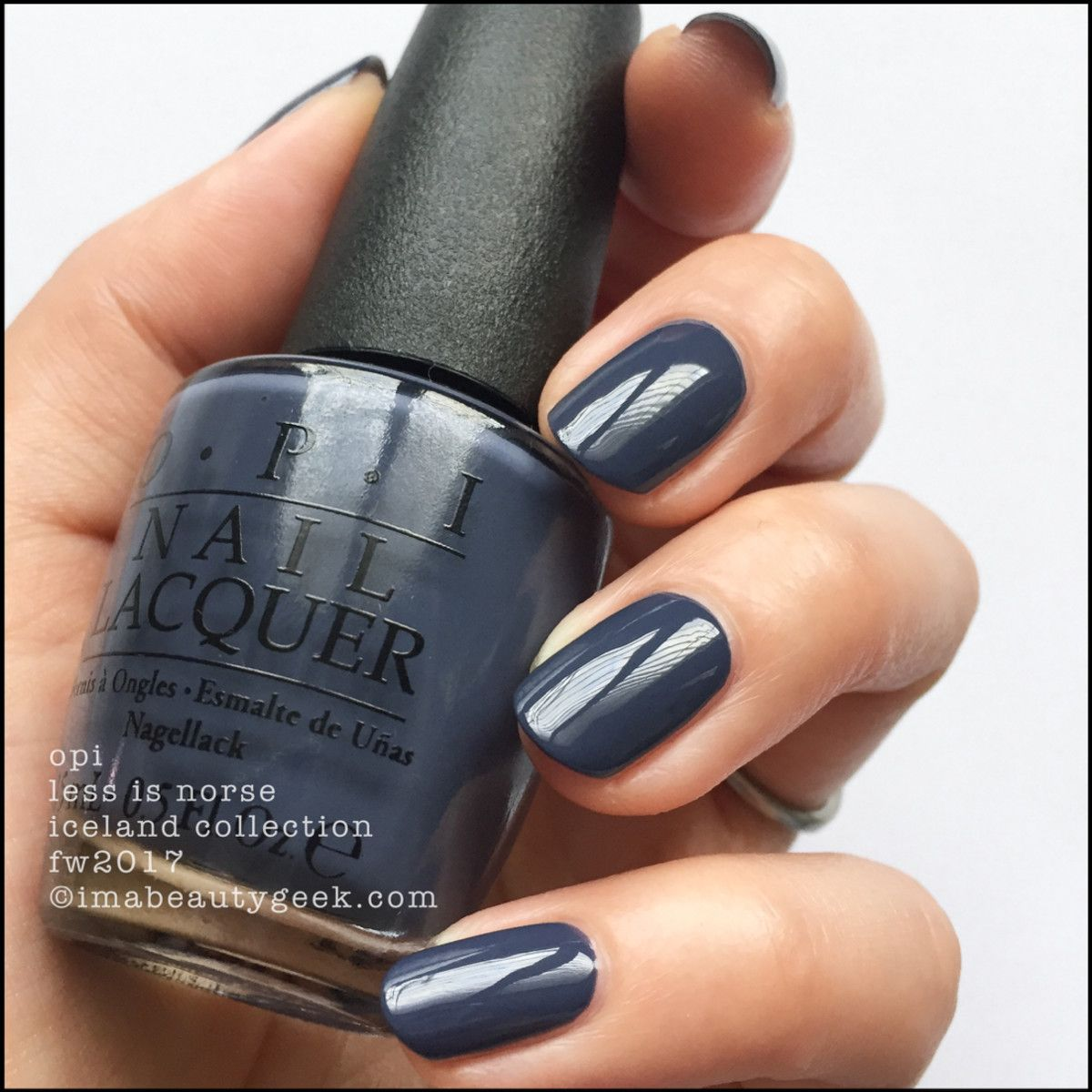 OPI Less is Norse – OPI Iceland 2017