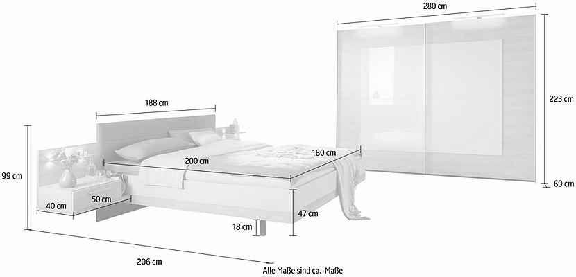 Nolte Mobel Schlafzimmer Set Concept Me 320 Otto Bed Summer Soiree Home Decor