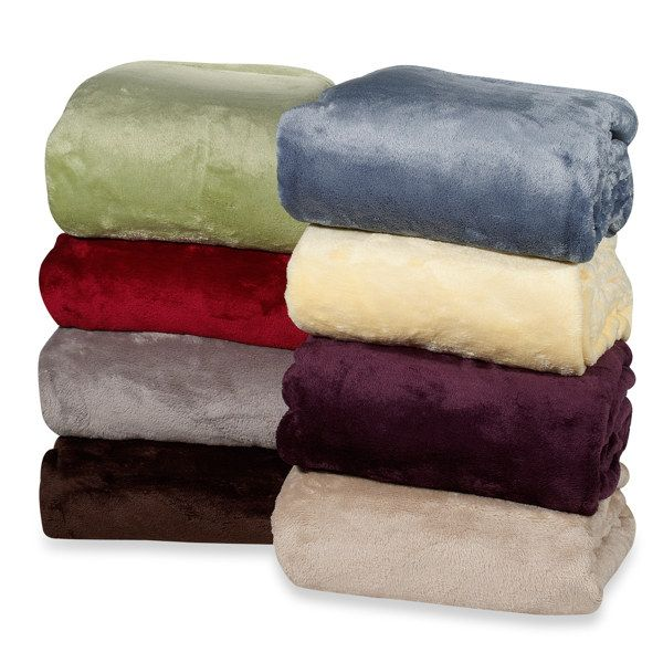 The Perfect Touch Throw Blanket Green Bath