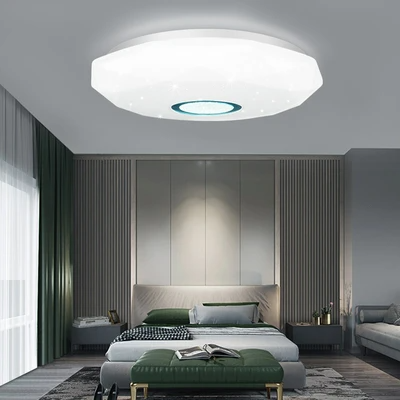 Surface Mount Panel Lamp 3 Colors Change In 2020 Ceiling Lights Modern Led Ceiling Lights Led Ceiling Lights