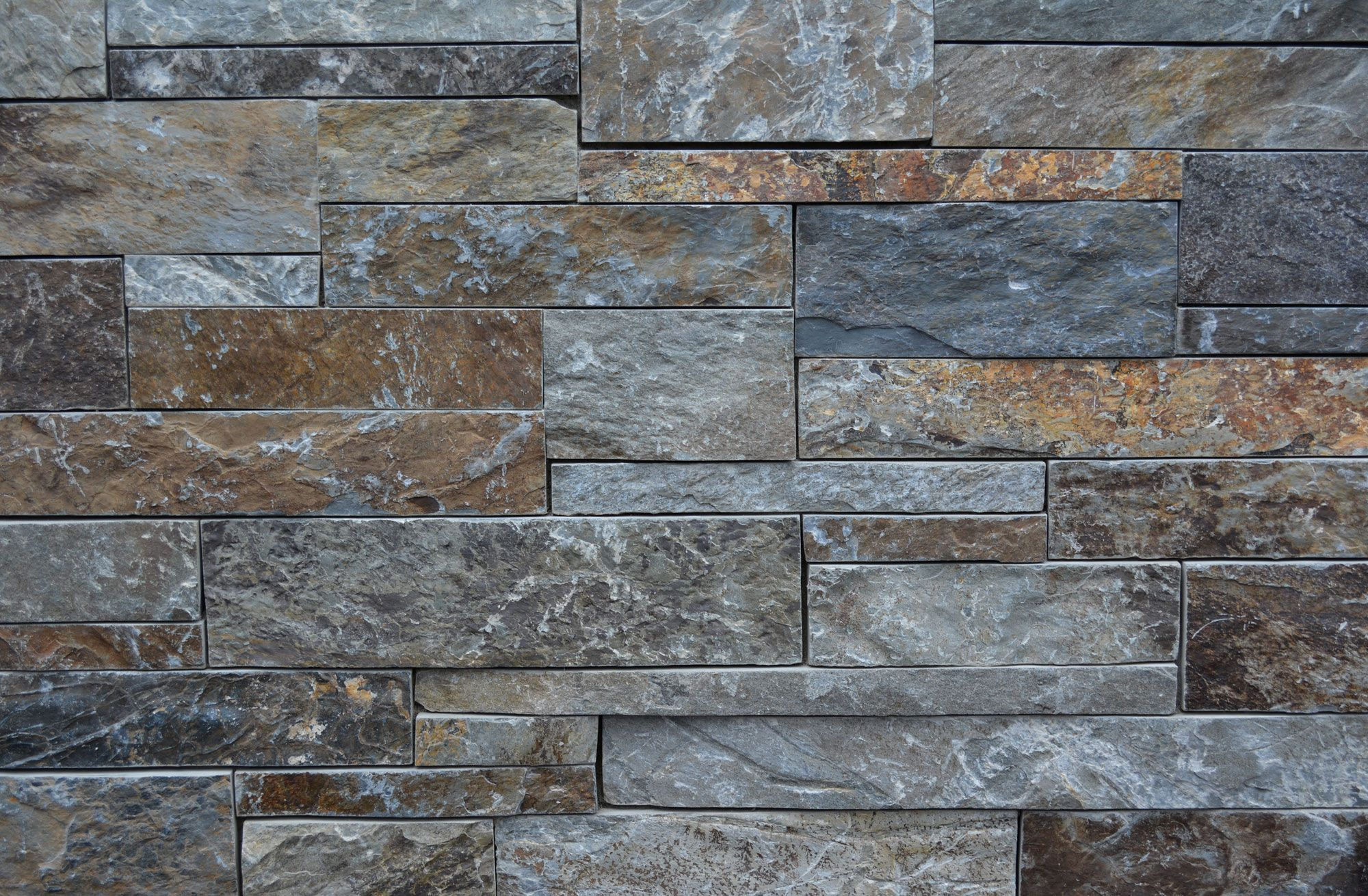 Modern Stone Veneer : Moose mountain ashlar quot heights with cut ends
