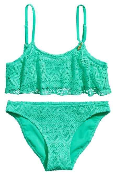 kanten bikini top