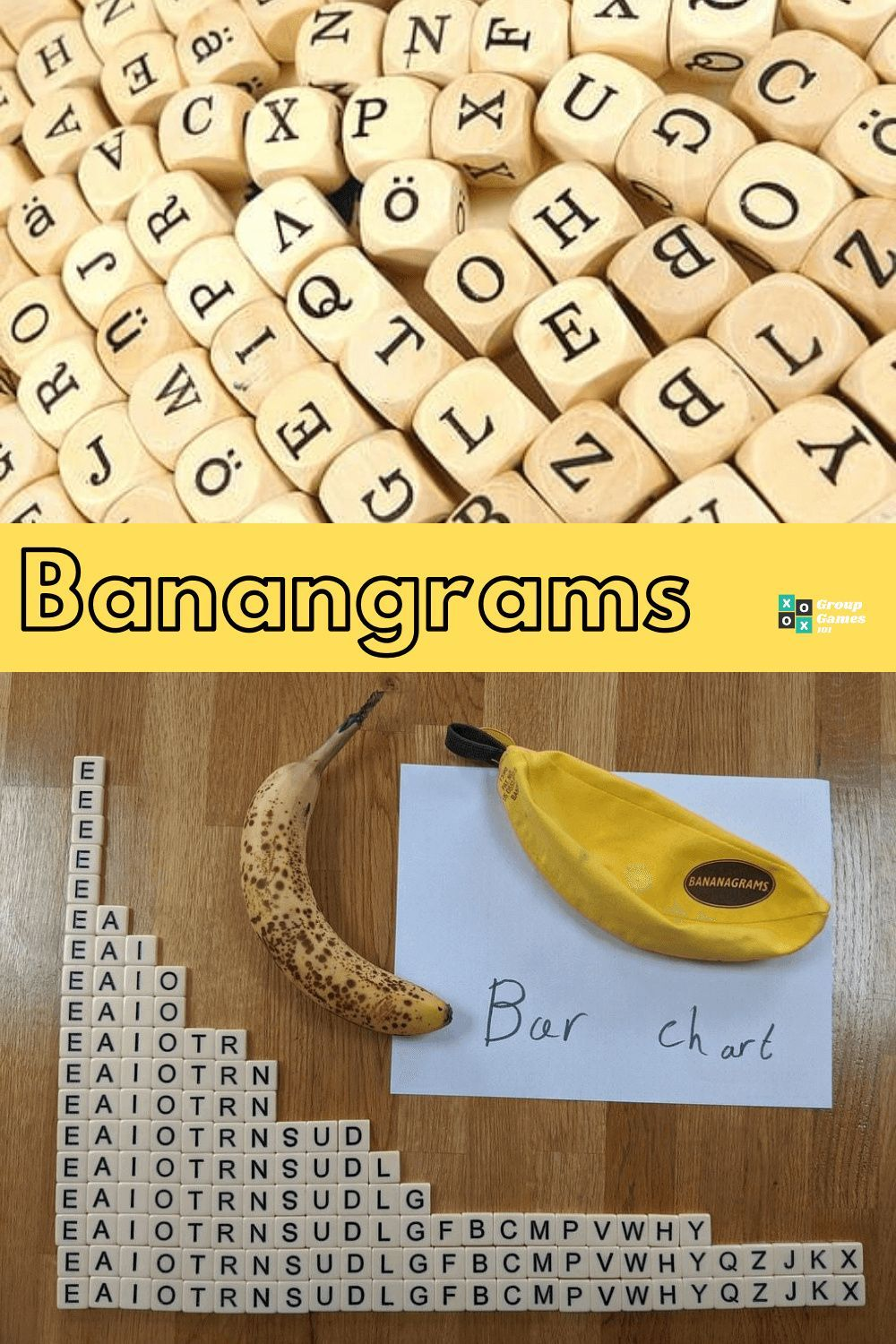 Bananagrams Rules Scoring Games To Play Inside Games For Kids Family Game Night