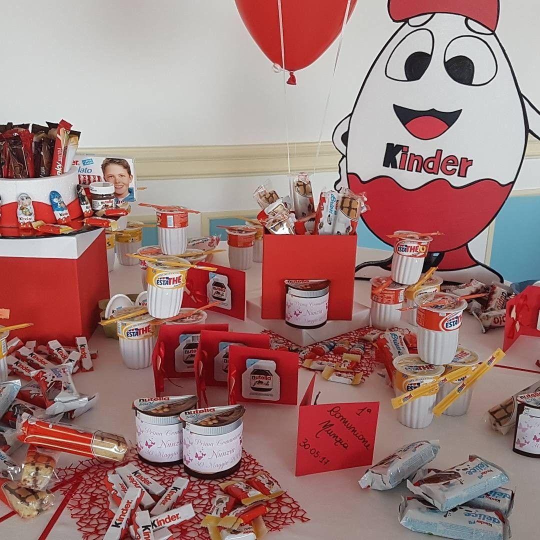 Sorprese Per Un Compleanno kinderata ❤ #kinder #ferrero | idee per il compleanno