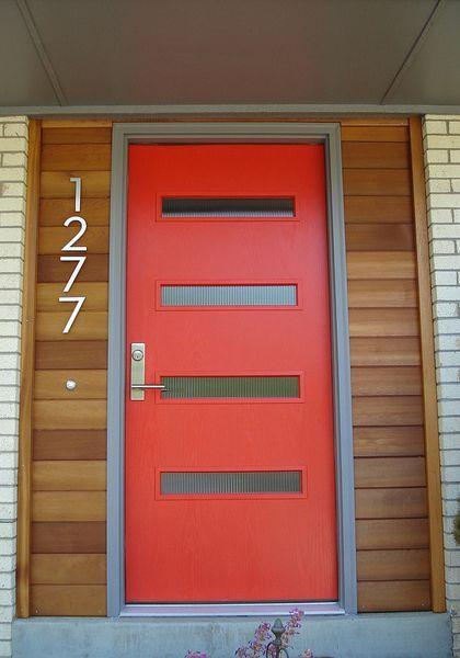 Mitte Jahrhundert Moderne Haustüren #HausIdeen #hausturen #jahrhundert # Mitte #moderne