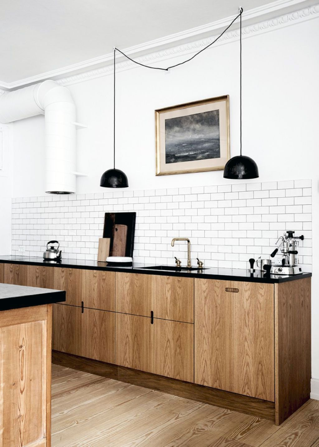44 Clean Minimalist Sink Ideas For Your Scandinavian Kitchen In 2020 Scandinavian Kitchen Kitchen Design Trends Scandinavian Kitchen Design