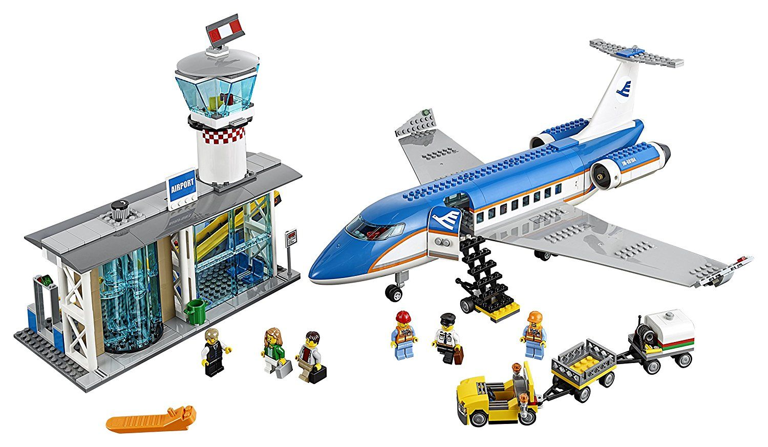 Pin lego 60032 city the lego summer wave in official images on - Amazon Com Lego City Airport 60104 Airport Passenger Terminal Building Kit 694 Piece