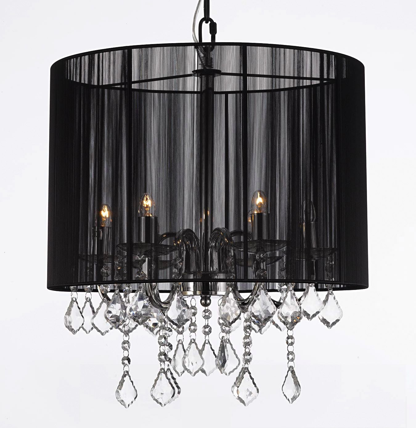J10 5407 6 Gallery Chandeliers With Shades Crystal Chandelier With Shade House Of Decor Pendant Ceiling Lamp Crystal Chandelier Lighting