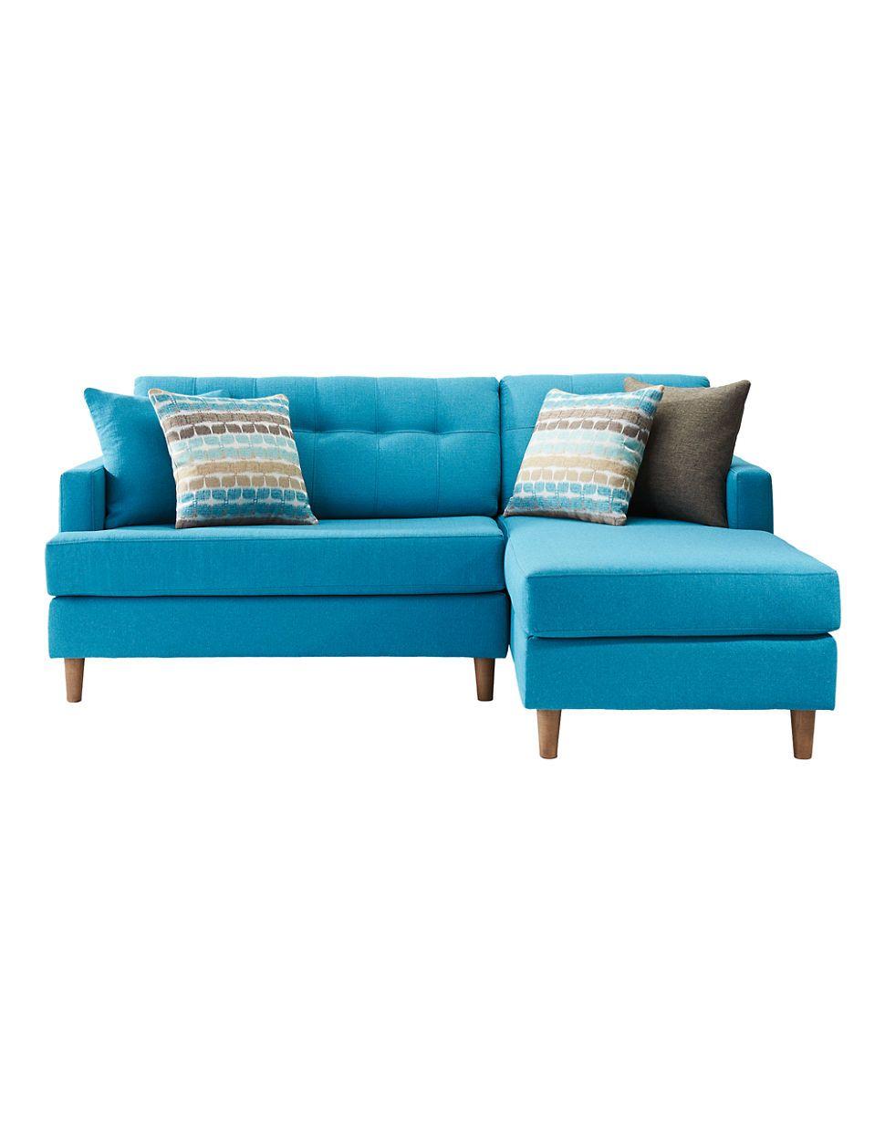 home living amber 79in sectional sofa hudson 39 s bay. Black Bedroom Furniture Sets. Home Design Ideas