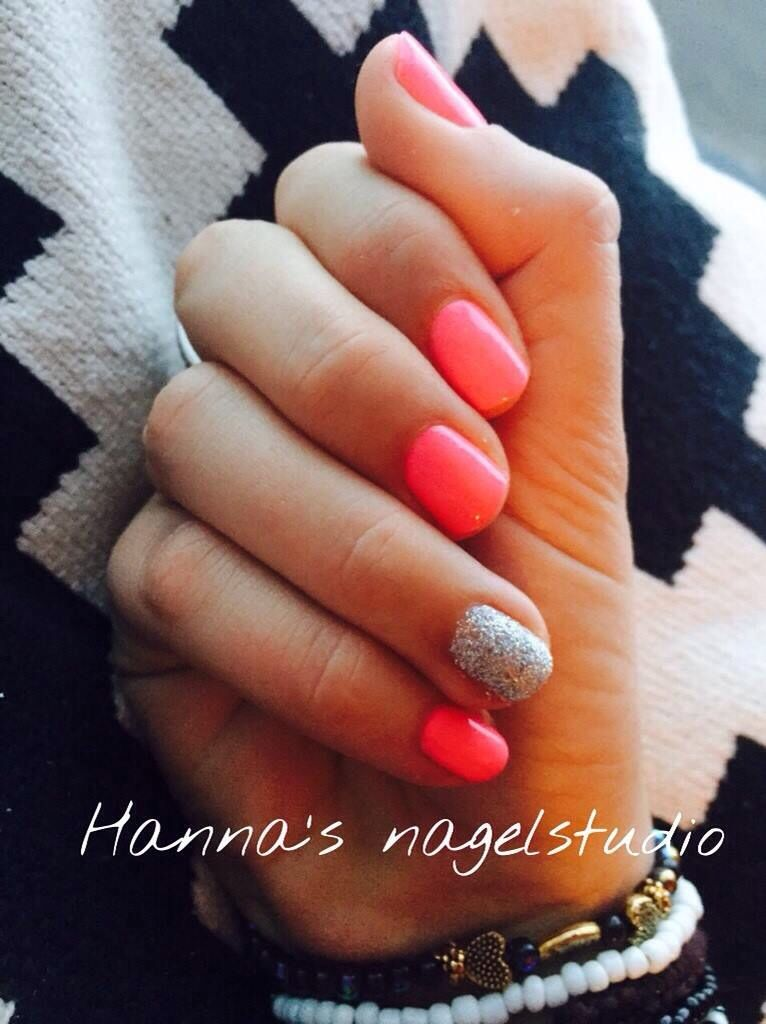 One step gellak from crystal nails by Hanna's nagelstudio