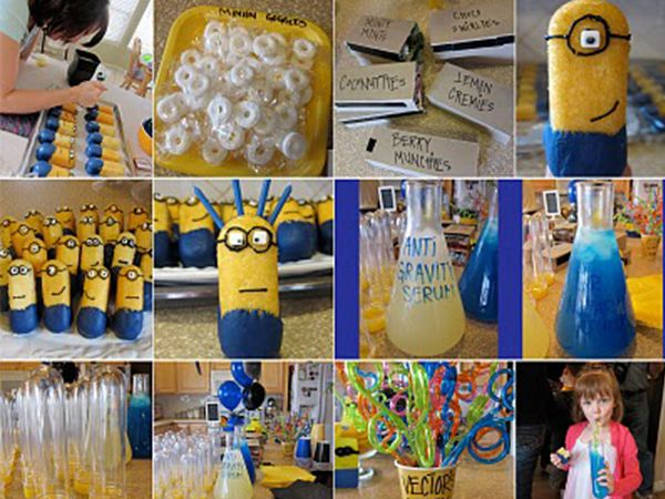 Despicable Me Minion Birthday Party | The Ruby Lake