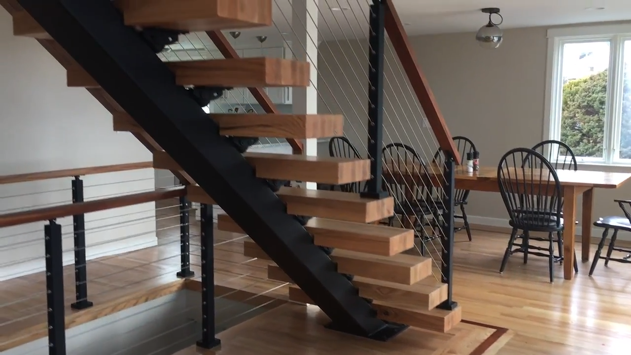 Floating Stair Simple Installation