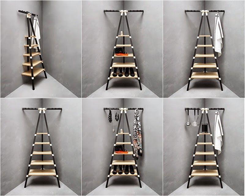 estanteria diseño escalera para baño - Buscar con Google | Ideas ...