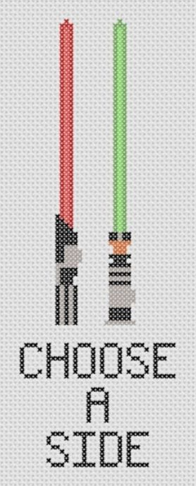 Star Wars cross stitch craft! Love love love it. May the fourth be with you.