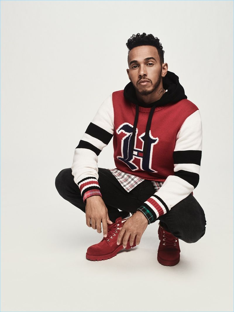 9664fa2f Tommy Hilfiger solidifies its relationship with its global brand ambassador Lewis  Hamilton. The British racing driver brings his personal style to a