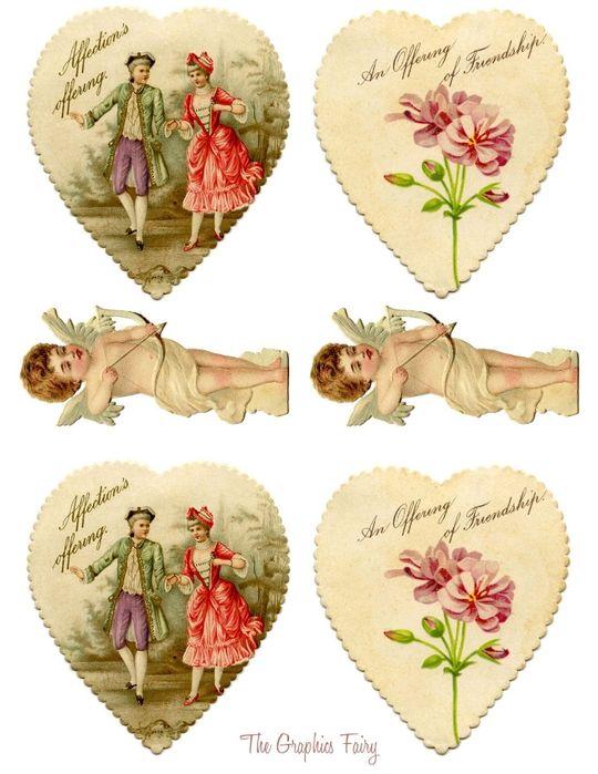 Картинки для открыток скрапбукинг ко дню святого валентина трудового дня