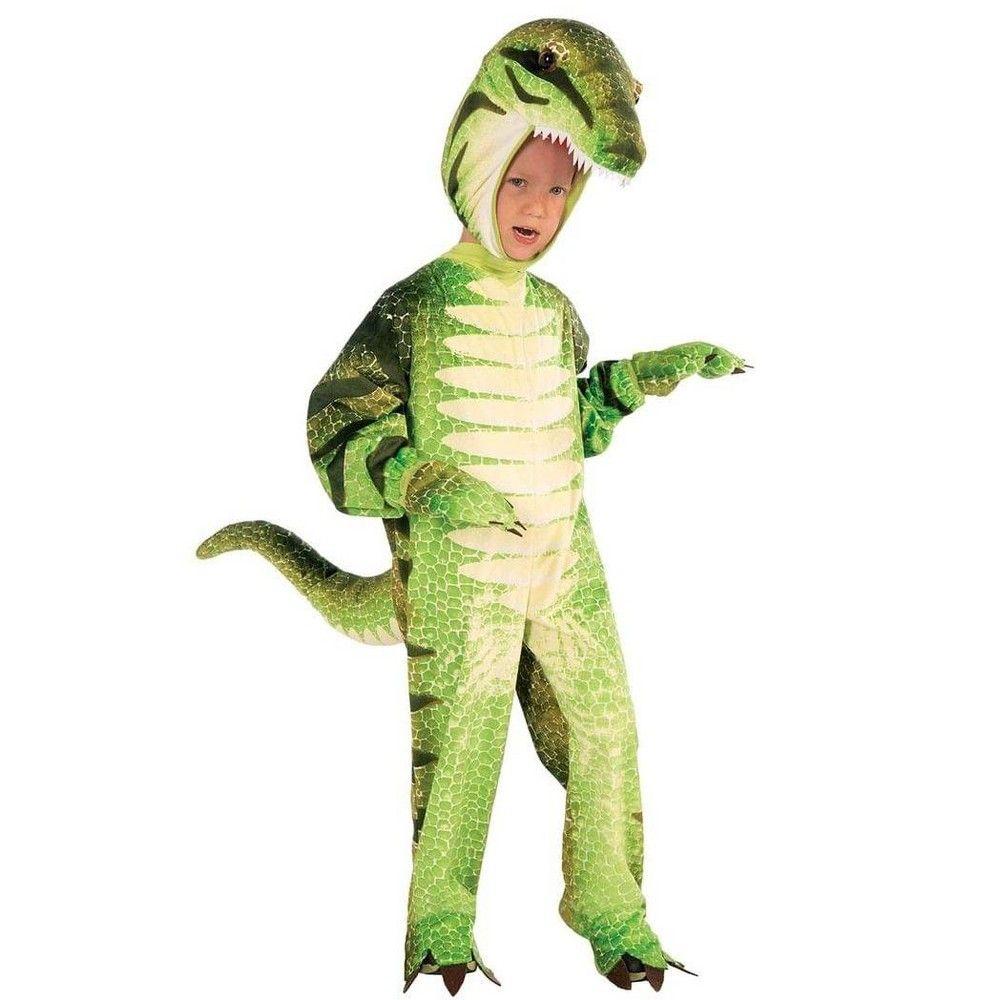 Child Boys Dinomite Dinosaur T Rex Kids Fancy Dress Halloween Costume Ages 3-9