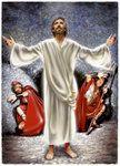 Jesus Appearing at Resurrection