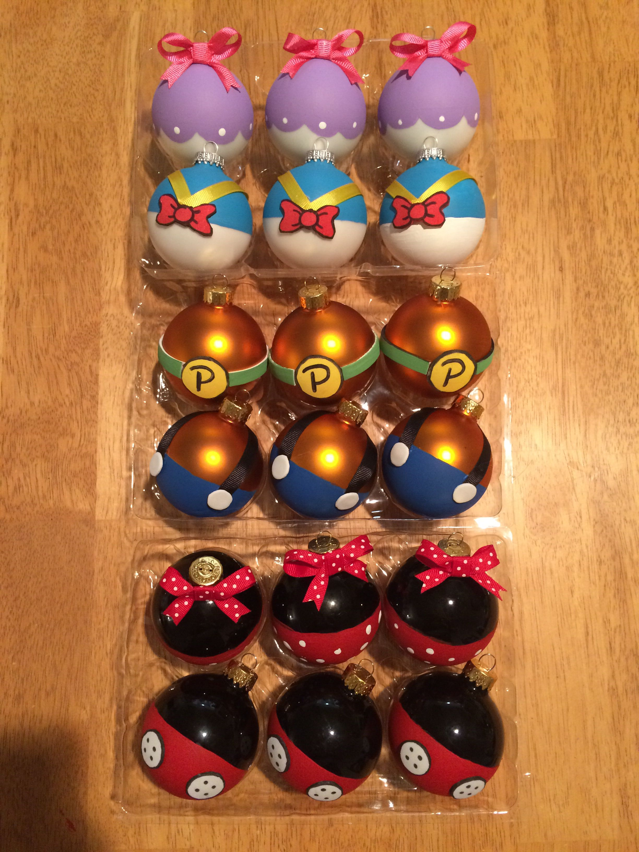 Diy disney character ornaments merry christmas for Do it yourself christmas ornaments