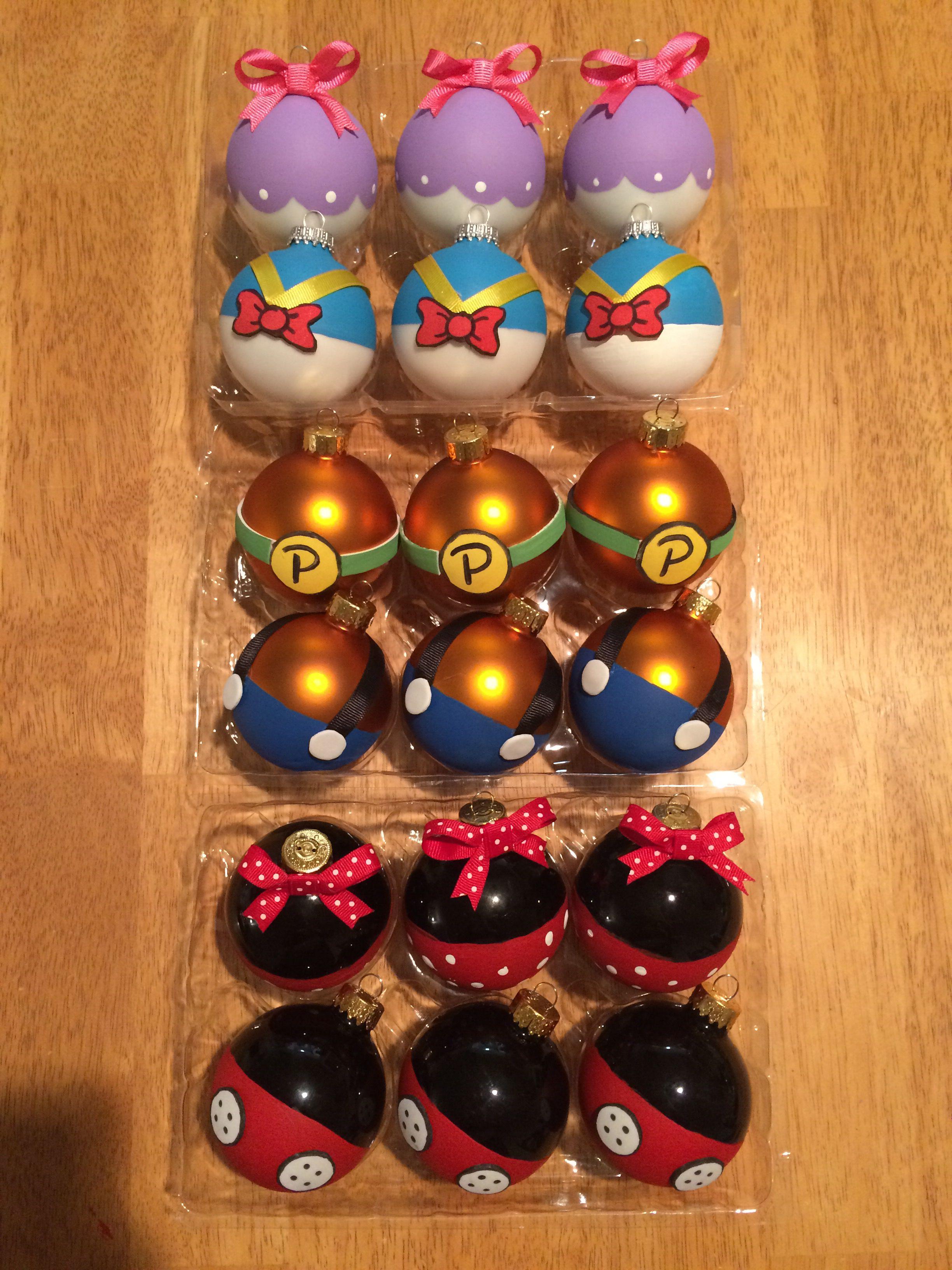 Diy Disney Character Ornaments Disney Diy Christmas Ornaments Disney Christmas Ornaments Disney Ornaments Diy