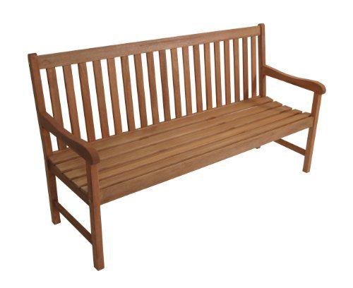 Gartenbank Santos 3-sitzer, Eukalyptus Hartholz, FSC®-zertifiziert ...