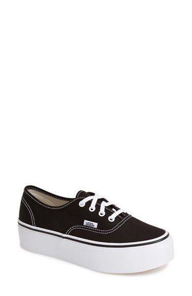 60eb93591a15c1 Vans  Authentic  Platform Sneaker (Women)