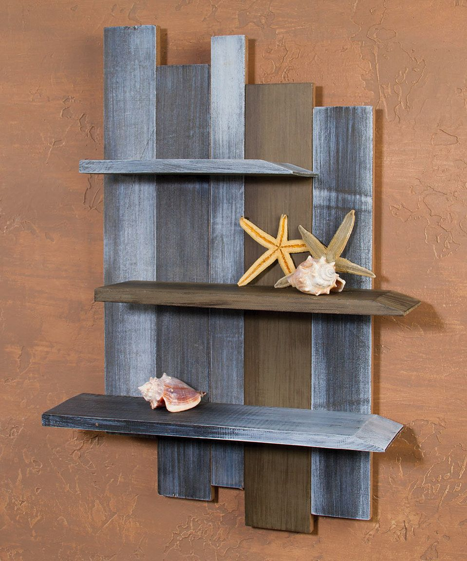Look What I Found On Zulily Weathered Wood Shelf By Ohio Wholesale Inc Zulilyfinds Weathered Wood Weathered Wood Projects Wood Shelves