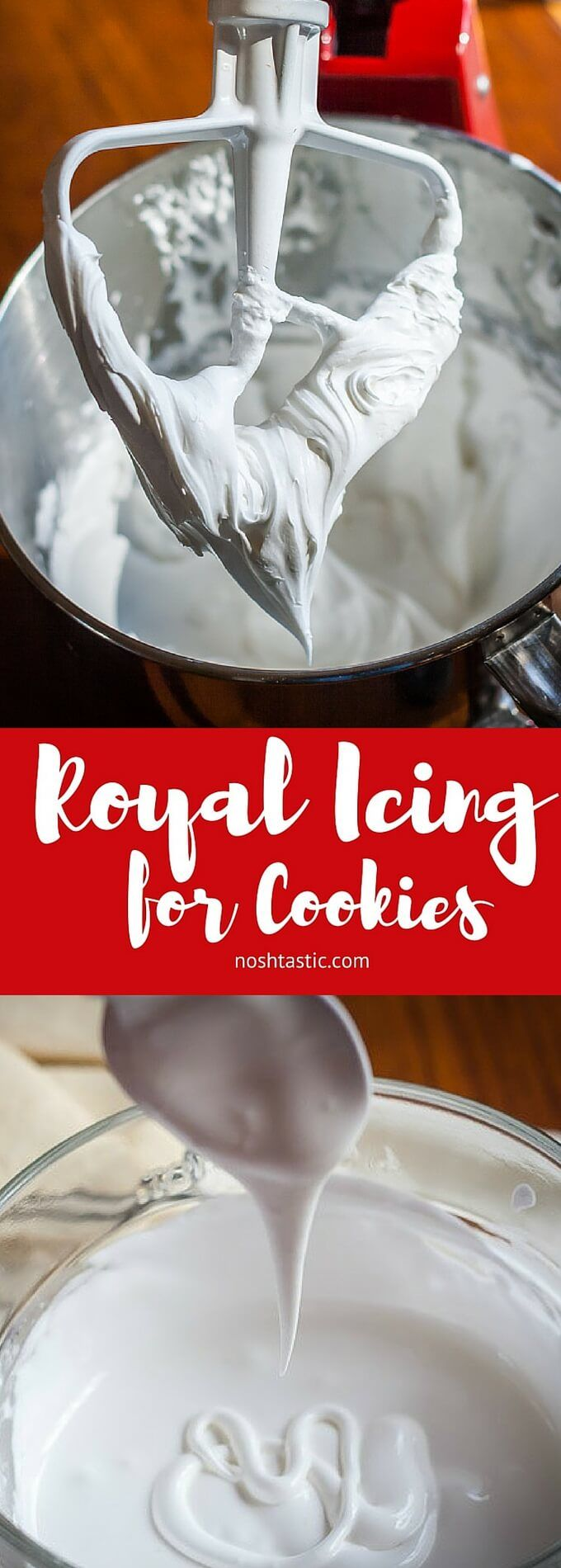 How to Make Royal Icing for Cookies with ONLY 2 Ingredients! it's gluten free and dairy free too