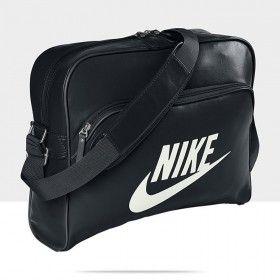 28bdfea7dd Nike Heritage SI Track Retro BA4271 Black White Unisex Shoulder Bag ...