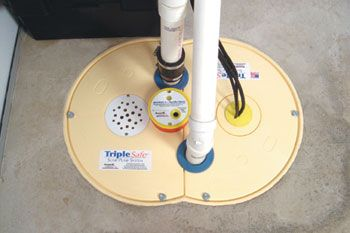 Triplesafe Sump Pump Cover Looks Great Installed