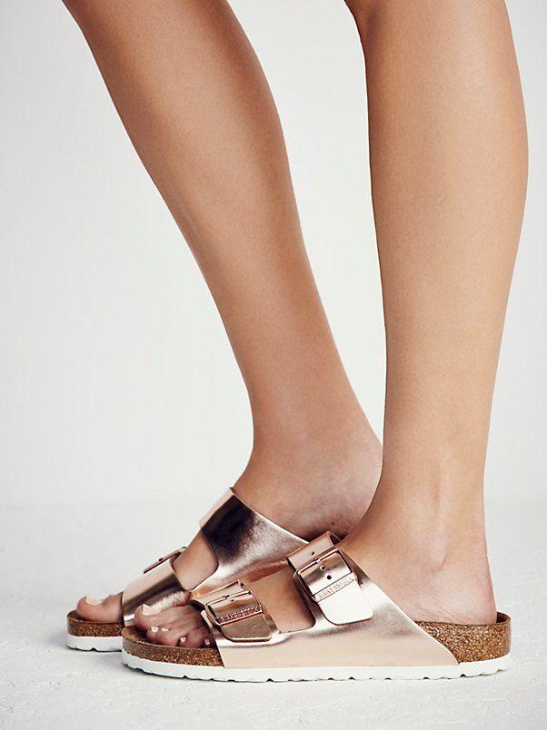 fd29f3f01b0 Arizona Metallic Birkenstock Sandal