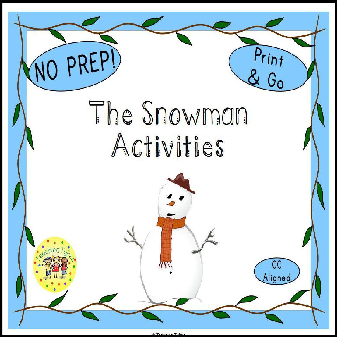 The Snowman Activities
