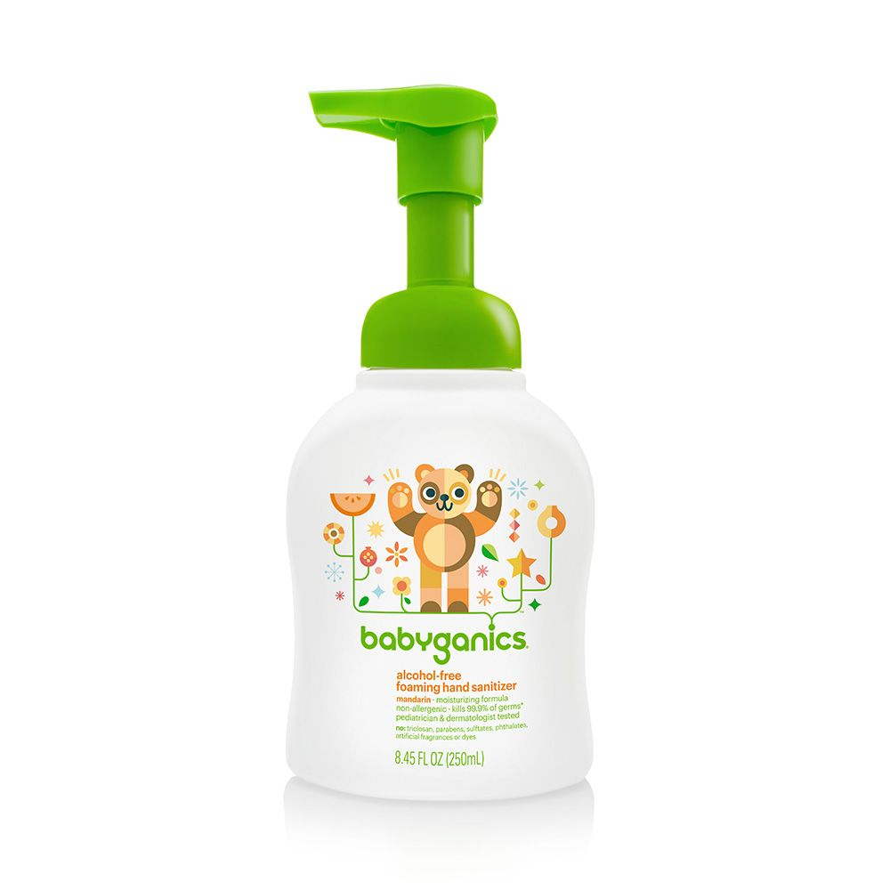 Alcohol Free Foaming Hand Sanitizer Mandarin Doesn T Smell Bad