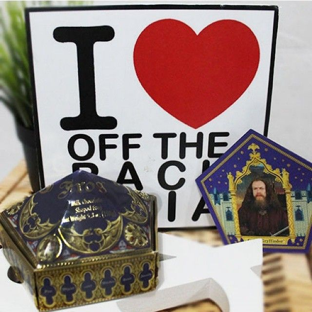 Look what we got today. How cute is this?  Check it out at -> http://instagram.com/offtherackasia #chocolatefrog #gryffindor #harrypotter