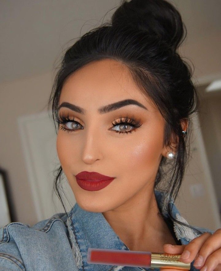 Pin By Nia L On Make Up Red Lips Makeup Look Red Lip