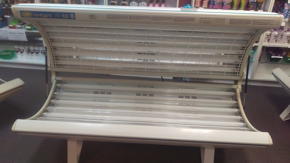 Tanning Bed Wolff Sunquest Pro 16 Runs On 120 Volts Etswolff Tanning Bed Tanning Ebay