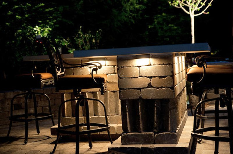 Outdoor Bar Of Weston Sheffield With Indiana Limestone By McCune Outdoor  Living